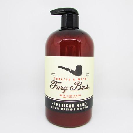 Tobacco Musk Hand + Body Wash // Set of 3