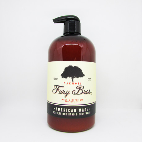 Oakmoss Hand + Body Wash // Set of 3