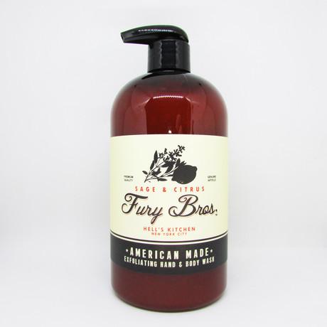 Sage Citrus Hand + Body Wash // Set of 3