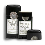 Valley of Gold Natural Deodorant // Set of 2