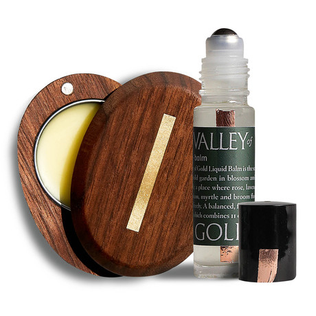 Valley of Gold Solid Cologne + Valley of Gold Liquid Balm