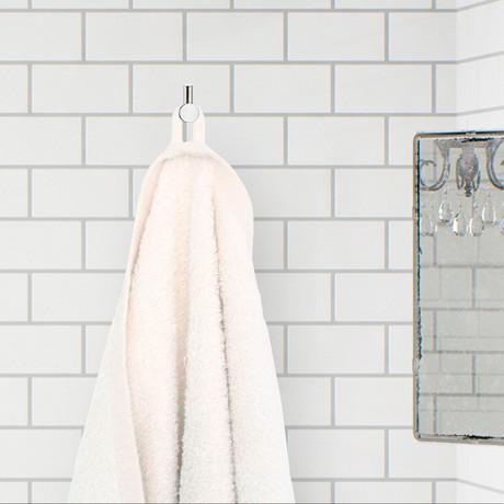 Bath Towel (Natural White)