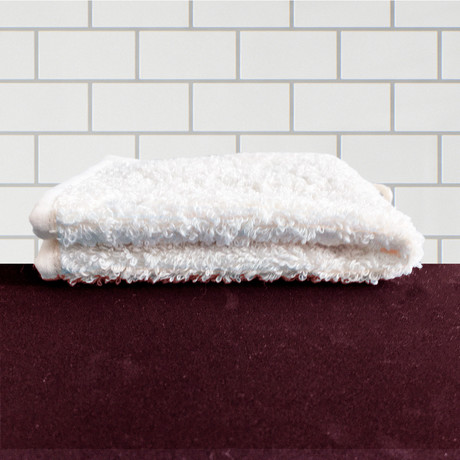 Wash Cloth (Natural White)