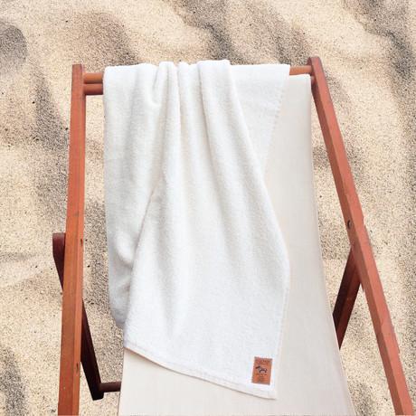 Beach Towel (Natural White)