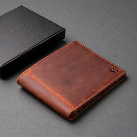 Executive Wallet // Canyon Red