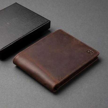 Executive Wallet //  Texas Brown
