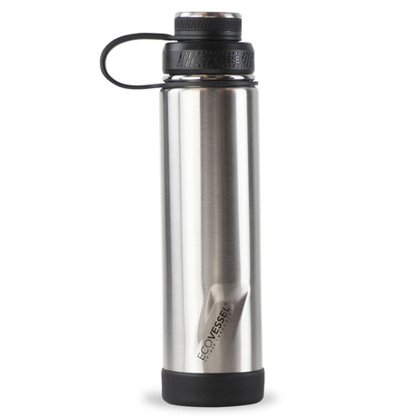 Boulder Trimax® Insulated Stainless Steel Water Bottle // 24 oz. (Silver Express)