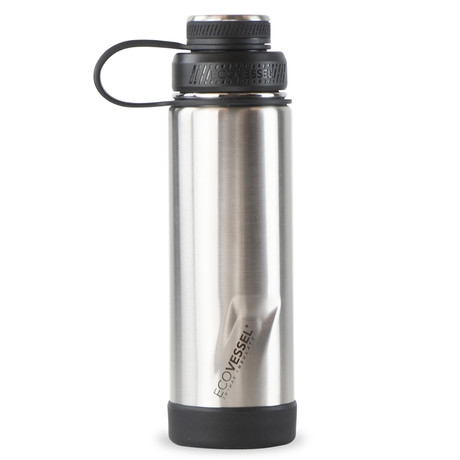 Boulder Trimax® Insulated Stainless Steel Water Bottle // 20 oz. (Silver Express)