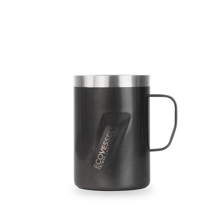 Transit Trimax® Insulated Stainless Steel Mug // 12 oz. (Black Shadow)
