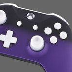 Xbox One Controller // Purple Shadow + White