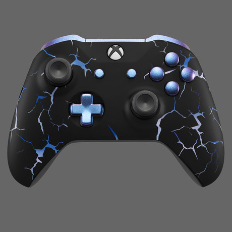 Xbox One Controller // Blue Storm
