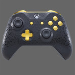 Xbox One Controller // 3D Black + Gold
