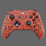 Xbox One Controller // 3D Orange Splash