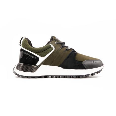 Duane Sneaker // Olive + Black + White (US: 7.5)