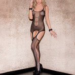 Wendy Double Strap Cami + Thigh Highs // Black