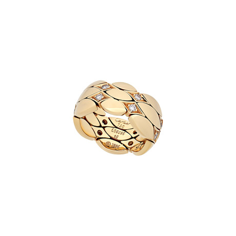 Cartier 18k Yellow Gold Diamond Ring // Ring Size: 4.5 // Pre-Owned