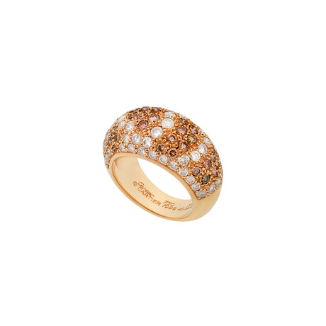 Cartier 18k Yellow Gold Dome Diamond Ring // Ring Size: 6.75 // Pre-Owned
