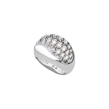Cartier 18k White Gold Diamond Ring // Ring Size: 6 // Pre-Owned