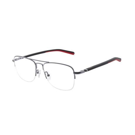 Men's DA3003 Optical Frames // Dark Gunmetal