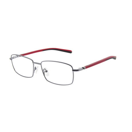 Men's DA3002 Optical Frames // Dark Gunmetal