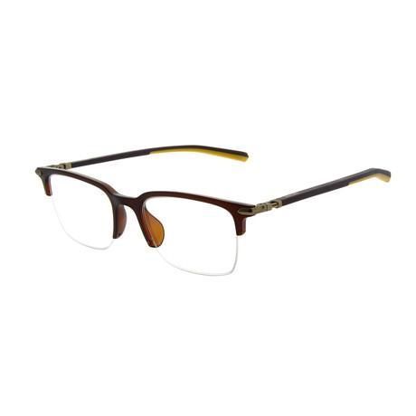 Men's DA1003 Optical Frames // Dark Brown