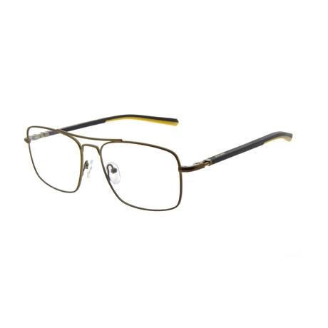 Men's DA3001 Optical Frames // Dark Brown