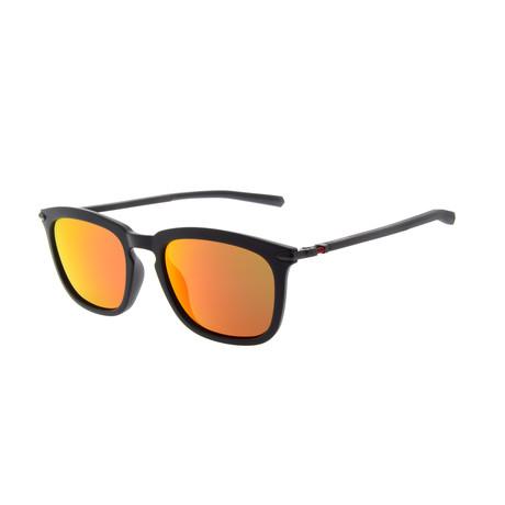 Men's DA5002 Sunglasses // Black + Dark Gray
