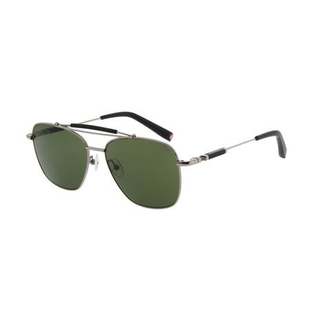 Men's DA7003 Sunglasses // Dark Gunmetal + Black