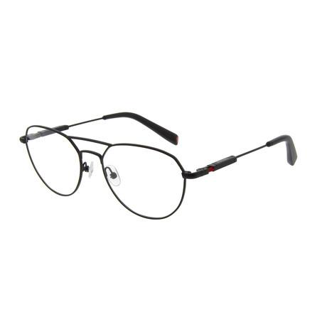 Men's DA3004 Optical Frames // Matte Black