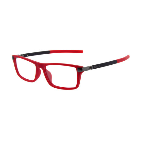 Men's DA1005 Optical Frames // Red