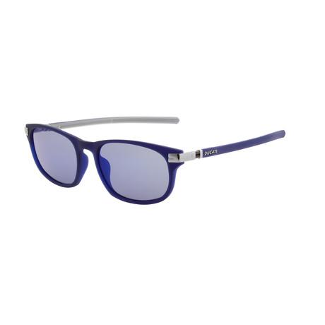 Men's DA5006 Sunglasses // Dark Navy Blue