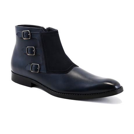 Jacob Boots // Navy (Euro: 39)