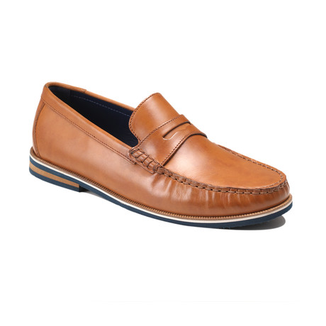 Duval Boat Shoes // Tan (Euro: 39)