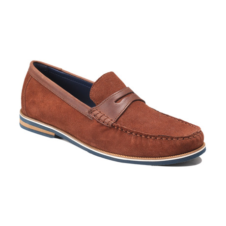 Duval Suede Boat Shoes // Brown (Euro: 39)