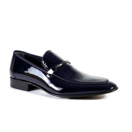Mayer Dress Shoe // Navy (Euro: 40)