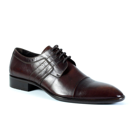James Dress Shoe // Burgundy (Euro: 40)