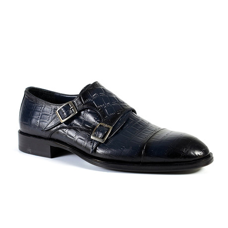 Leon Dress Shoe // Navy (Euro: 40)