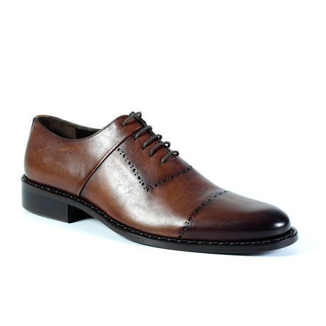 Milo Dress Shoe // Tobacco (Euro: 40)