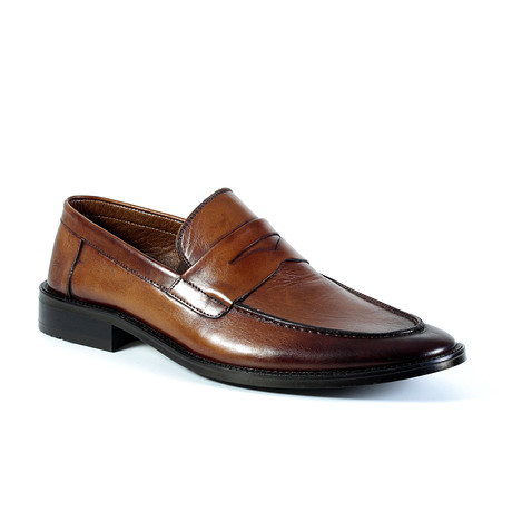Gatsby Dress Shoe // Tobacco (Euro: 40)
