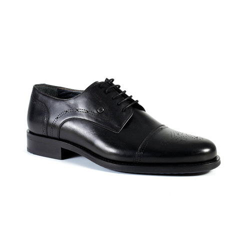 Bazzi Dress Shoe // Black (Euro: 40)