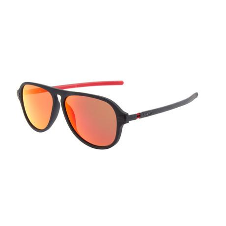 Men's DA5005 Sunglasses // Matte Black