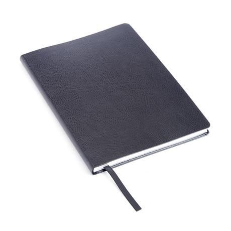 Pebble Grain Contemporary Journal (Black)