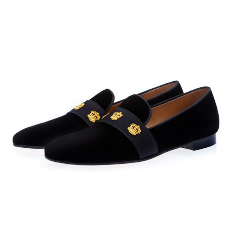 Dadalux Velour Slippers // Black (Euro: 39)