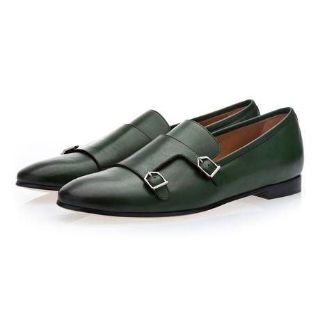 Odilon Nappa Loafers // Green (Euro: 39)