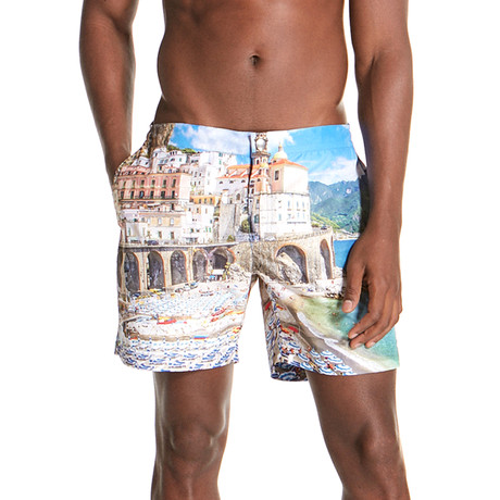 Monk Swim Shorts // Swedish (S)