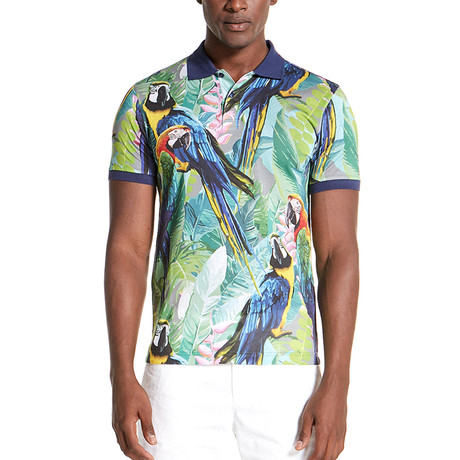 Smith Slim Fit Polo Shirt // Multicolor (S)