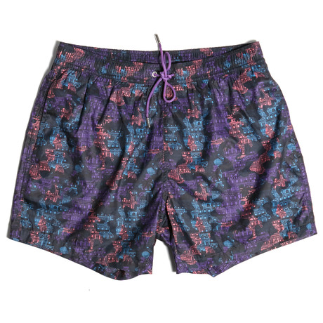 London Swim Shorts // Royal Lilac (S)
