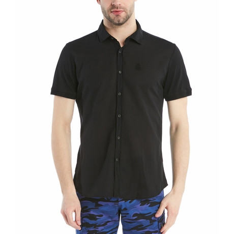 Cole Slim Fit Shirt // Black (S)