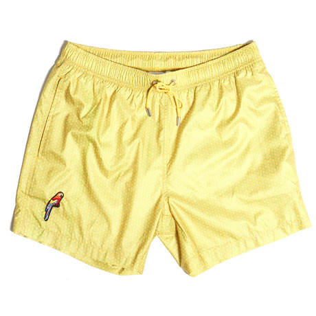 Kyle Swim Shorts // Yellow (S)