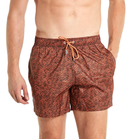 Jackson Swim Shorts // Orange (S)
